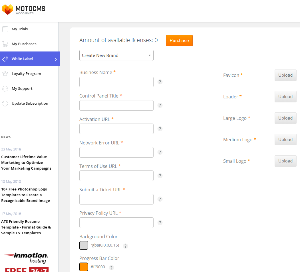 MotoCMS 3 Installation & Activation – Moto Help Center