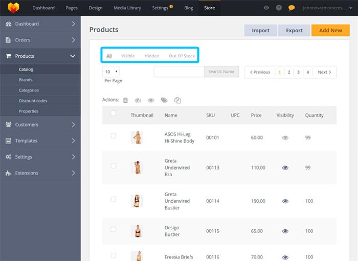 Store Product Catalog – Moto Help Center