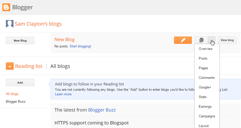 How to add blog via google blogger to motocms html template moto 1 dashboard maxwellsz