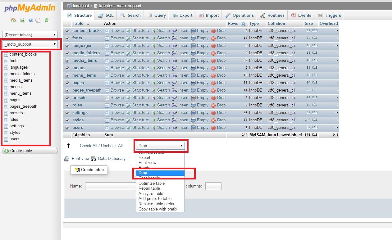 Wie man Demo-Änderungen aus einer MotoCMS 3 Vorlage übertragen kann ...